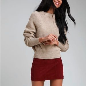 Free People Too Good Knit Pullover Sweater